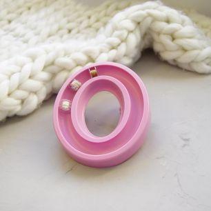 Органайзер для шпулек, розовый