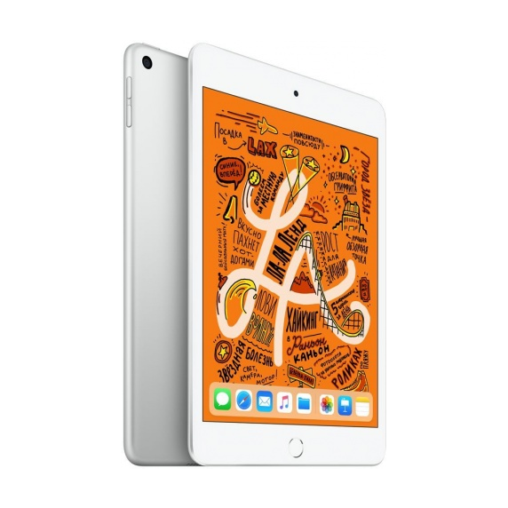 Apple iPad mini 64 ГБ Wi-Fi + Cellular Серебристый