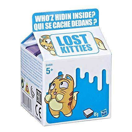 Игровой набор Lost Kitties Котенок в молоке, в ассортименте