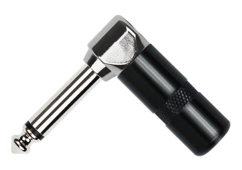 KIRLIN 2359CV-B Разъем TS ¼ Jack (6, 32 мм) male, моно, угловой