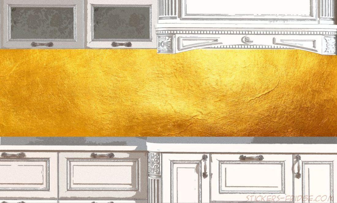 Фартук для кухни - Золото