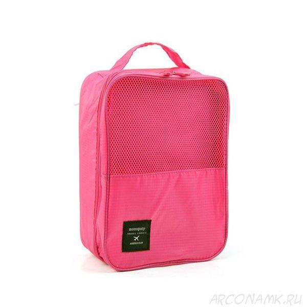 Органайзер для обуви Travel Series-shoes pouch, Розовый