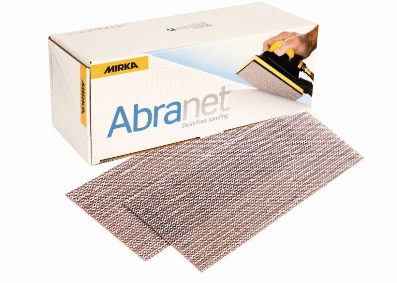 Mirka ABRANET. Полоска абразивная на сетчатой синтетической основе 115 мм. x 230мм., Р240, в упаковке 50шт.