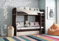Детская двухъярусная кровать Мийа