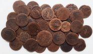 44 монеты Елизаветы Петровна
