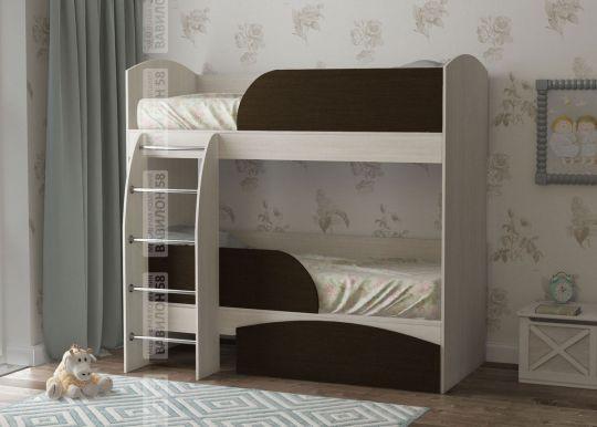 Детская двухъярусная кровать Омега-4