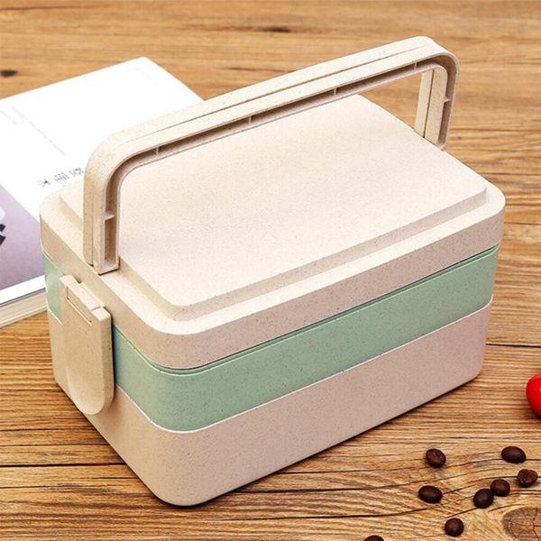 Ланч-бокс для микроволновой печи Yocoja 3 уровня