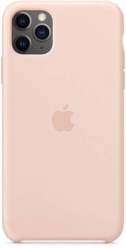 Apple Silicone для iPhone 11 Pro Max (розовый песок)