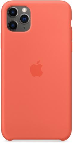 Apple Silicone для iPhone 11 Pro Max (спелый клементин)