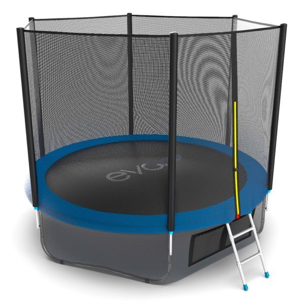 EVO JUMP External 10ft (Blue) + Lower net