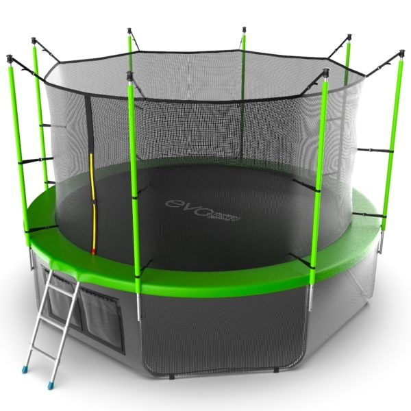 EVO JUMP Internal 12ft (Green) + Lower net