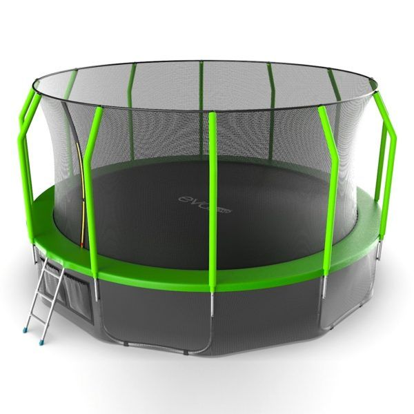 EVO JUMP Cosmo 16ft (Green) + Lower net