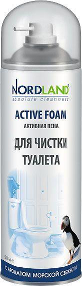 Nordland Активная пена для чистки туалета с ароматом Морской свежести, 500 мл