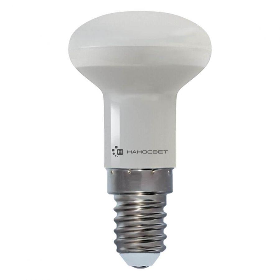 Лампа светодиодная рефлекторная Наносвет E14 3,5W 4000K матовая LE-R39-3.5/E14/840 L261