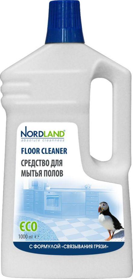 NORDLAND Средство для мытья полов с формулой Связывания грязи, 1 л