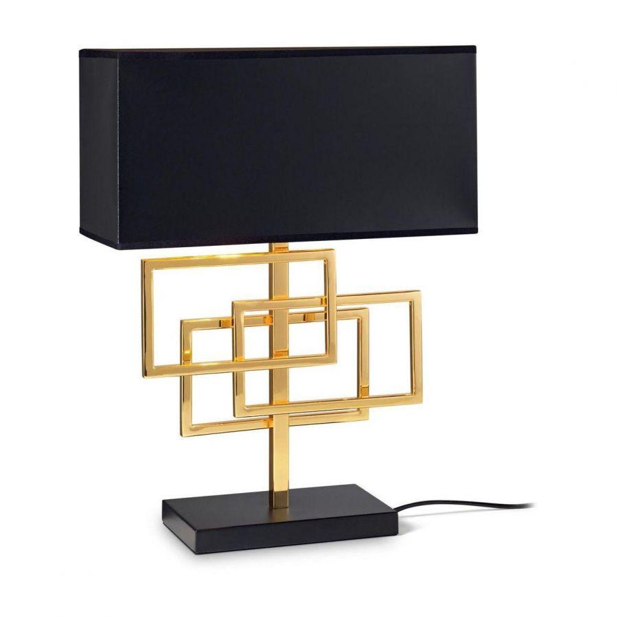 Настольная лампа Ideal Lux Luxury TL1 Ottone