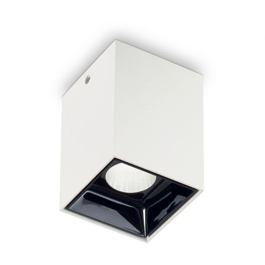 Потолочный светодиодный светильник Ideal Lux Nitro 15W Square Bianco