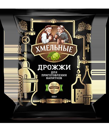 Дрожжи сухие Хмельные NEW 100 гр