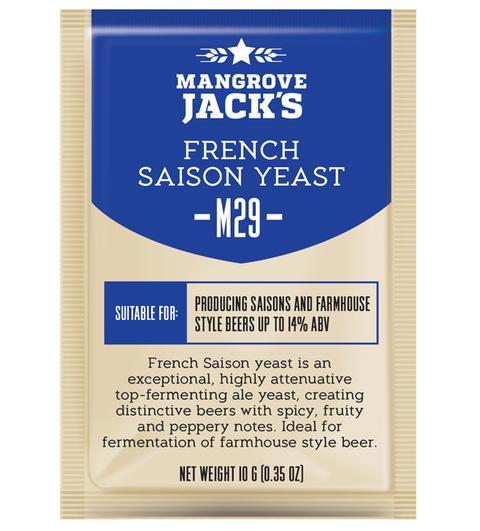 "Пивные дрожжи Mangrove Jack's ""French Saison M29"", 10 г"