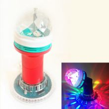 LED-светильник с поворотным механизмом, 16 см, Красный