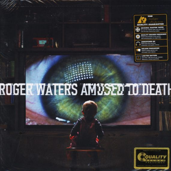 ROGER WATERS  Amused To Death 1992 (2015)  2LP
