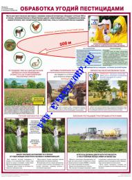 Обработка угодий пестицидами