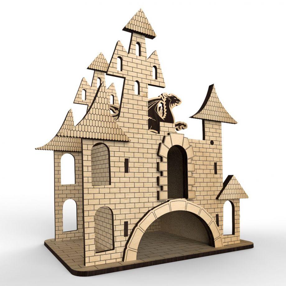 Чайный домик большой замок