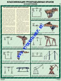 Классификация грузоподъемных кранов по конструкции