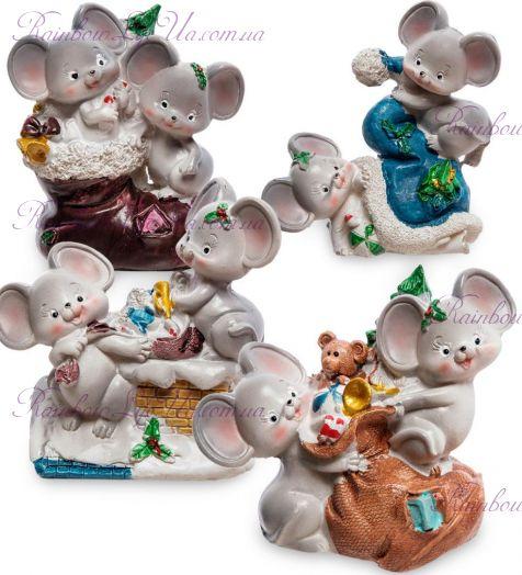 Фигурка новогодние мышата