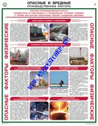 Опасные и вредные производственные факторы