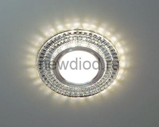 Точечный Светильник OREOL Crystal 2069S 95/60mm Под Лампу MR16 Белый