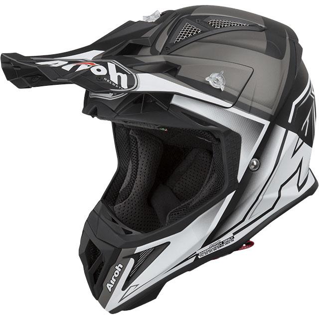 Airoh - Aviator 2.2 Check White Matt шлем