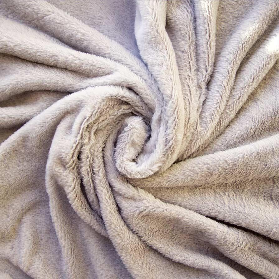 Мех длиноворсовый  50*40 см светло-серый