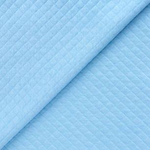 Лоскут трикотажной Стежка - голубой