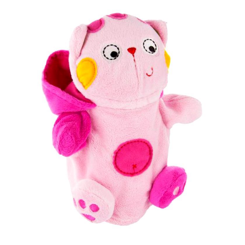 Плюшевая игрушка-перчатка Котенок