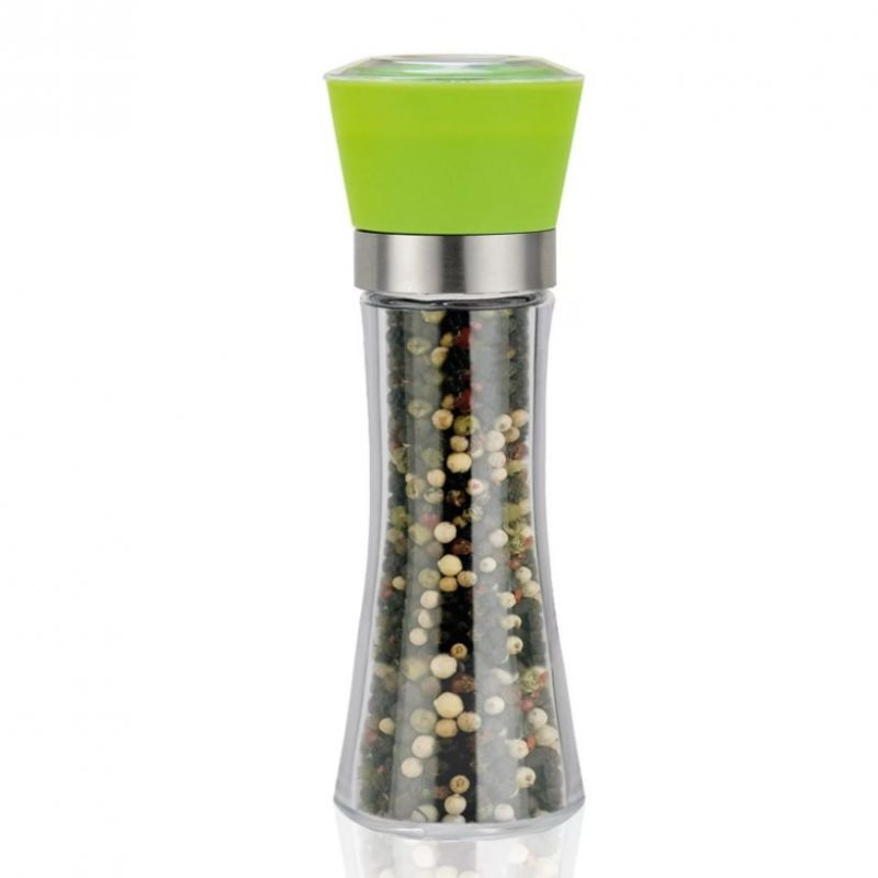 Стеклянная Мельница Для Специй, 19х6.5 См, Цвет Зеленый
