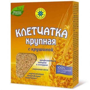 Клетчатка пшеничная крупная с крушиной, 150 гр