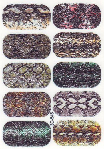 3D Слайдер-дизайн 3D 545 кожа змеи