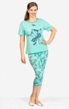 АКЦИЯ!!! Комплект женский (футболка, бриджи) №NOA155