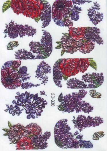 3D Слайдер-дизайн 3D 338 цветы