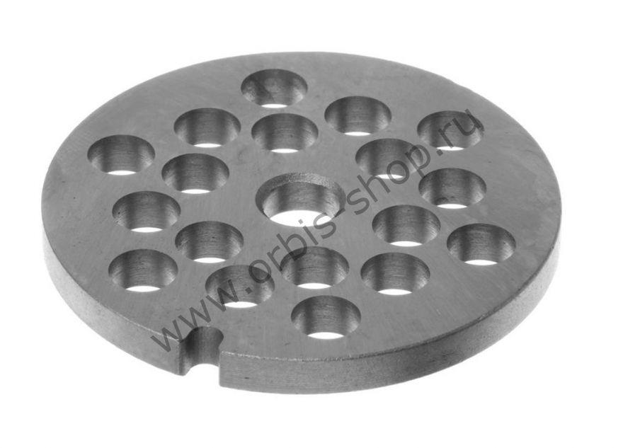 Решетка №8 для мясорубки Zelmer, крупная 8 мм.