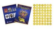 55 монет Города воинской славы ГВС, UNC + Альбом