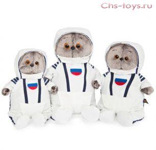 Басик в костюме космонавта