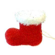 Игрушка Светящийся башмачок Деда Мороза