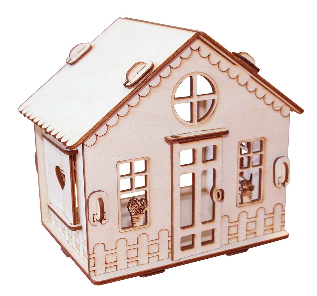 """Кукольный домик  """"Дачный домик в саду"""""""