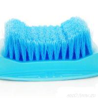 Щётка для ног на присоске Foot Brush, Голубой