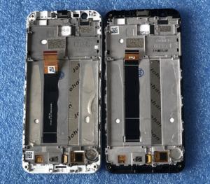 LCD (Дисплей) Meizu M8c (в сборе с тачскрином) (в раме) (white) Оригинал