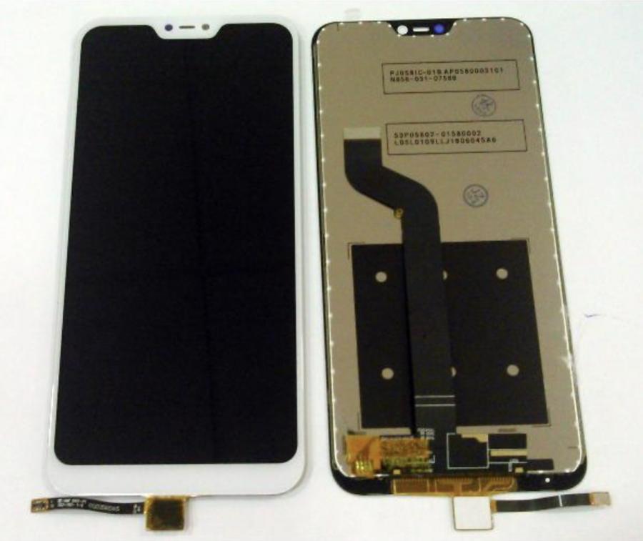 LCD (Дисплей) Xiaomi Mi A2 Lite/Redmi 6 Pro (в сборе с тачскрином) (white) Оригинал
