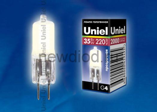 Лампа галогенная JC-220/35/G4