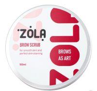 Скраб для бровей Zola Brow Scrub, 100 мл